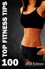 100 Top Fitness Tips by home-gym-health-exercise.com